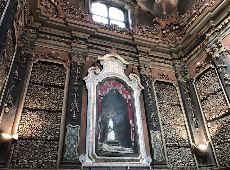 10 weird things to do in Milan. San Bernardino alle Ossa