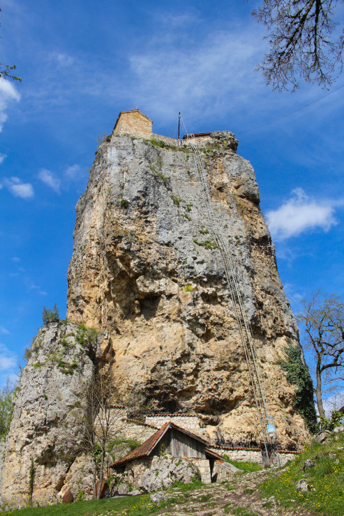 Katskhi Pillar and Chiatura. The holy hermitage